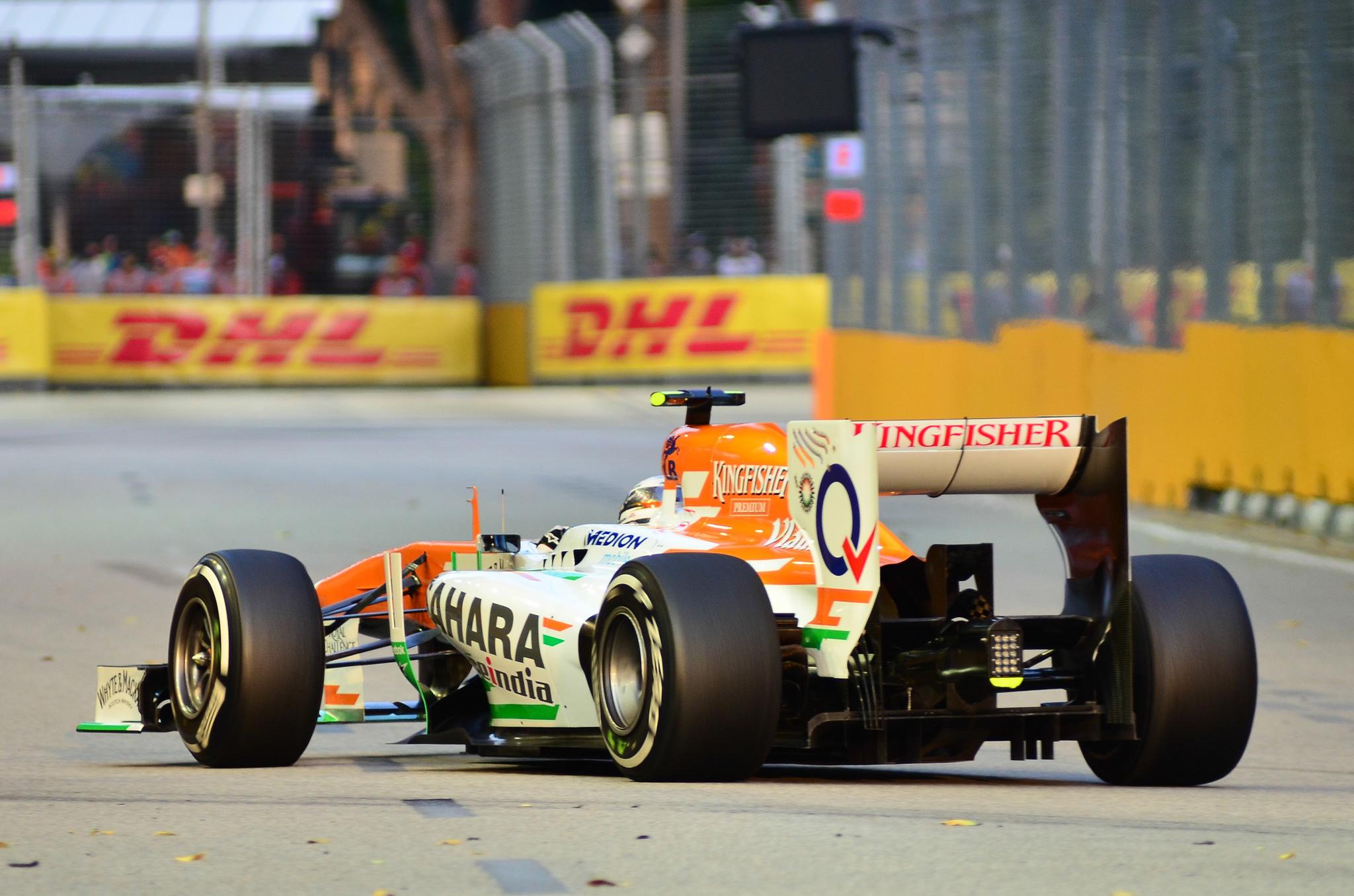 Menuju Grand Prix Singapura