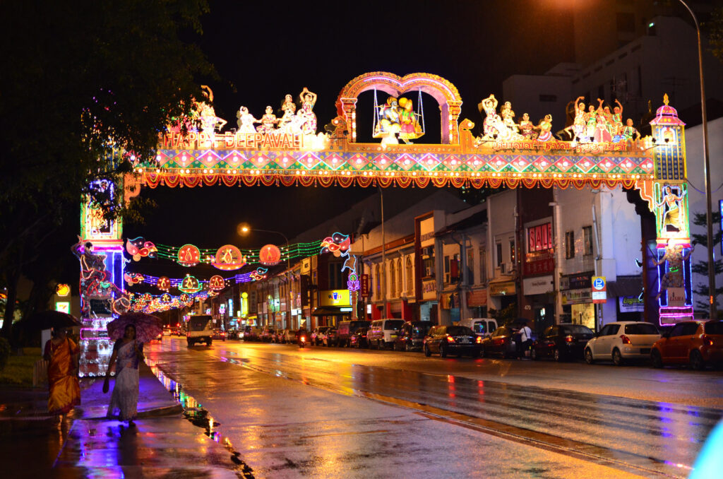 Deepvali di Little India