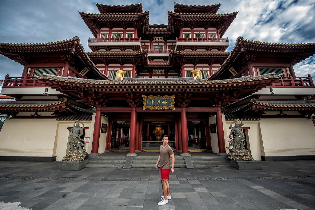 Wisata ke Buddha Temple