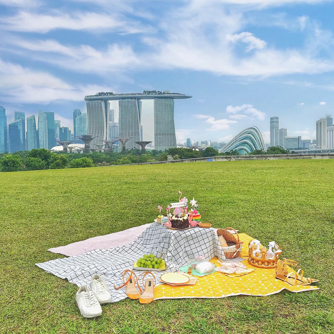 Piknik di Mariana Barrage
