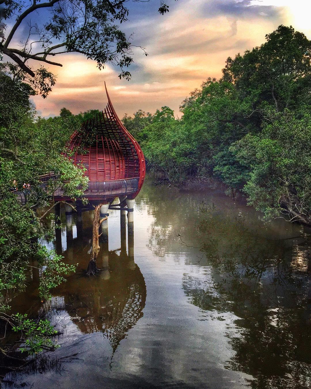 Cagar alam instagenic di Singapura