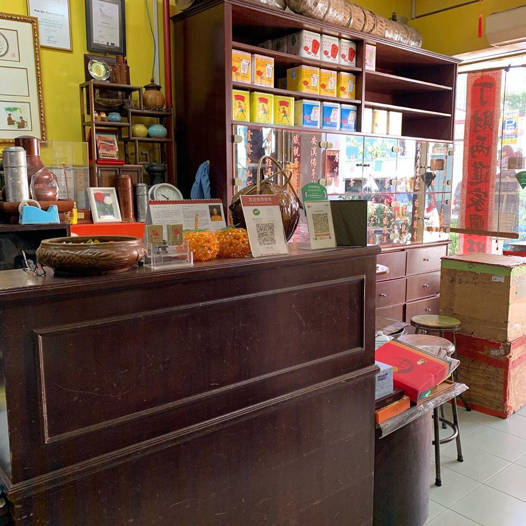 Kedai Teh tertua di Chinatown