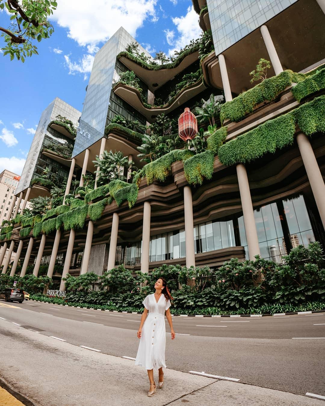 Parkroyal Hotel dari depan