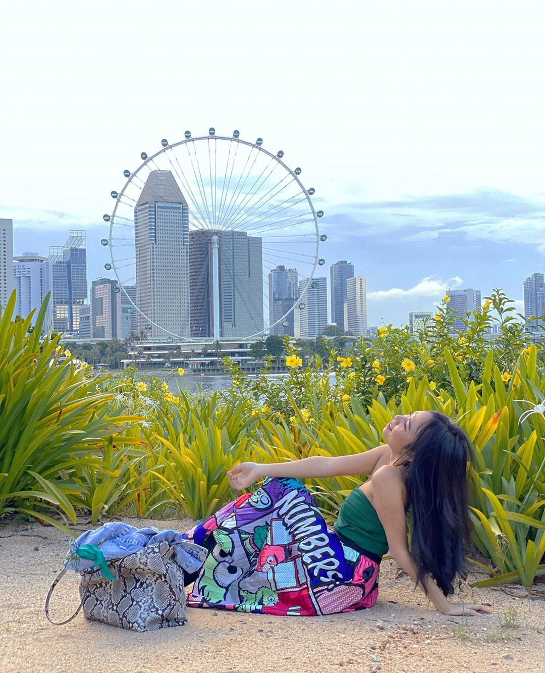 Pemandangan Marina Barrage