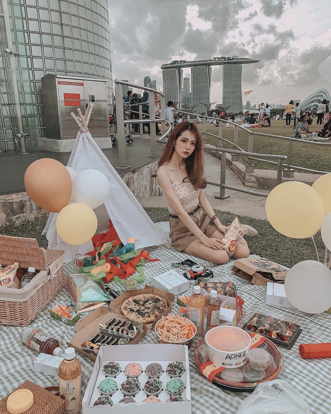 Piknik di Marina Barrage