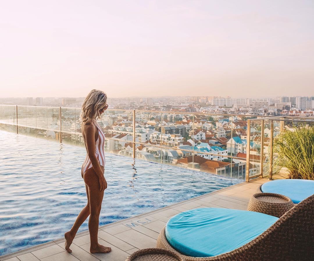 Hotel Instagenic di Katong dengan Rooftop Pool