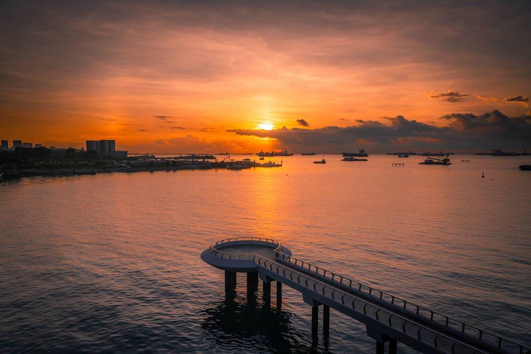 Spot cantik menikmati sunset