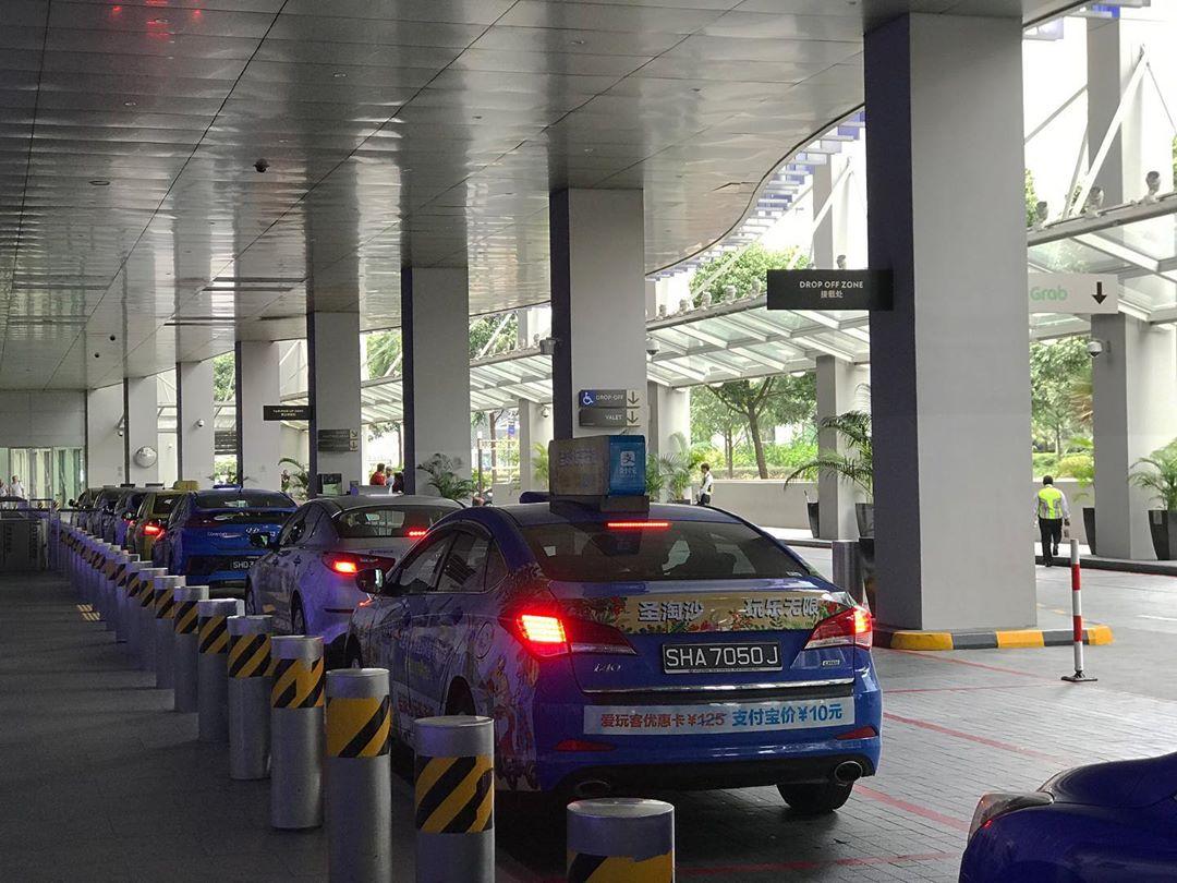 Taksi di Singapura