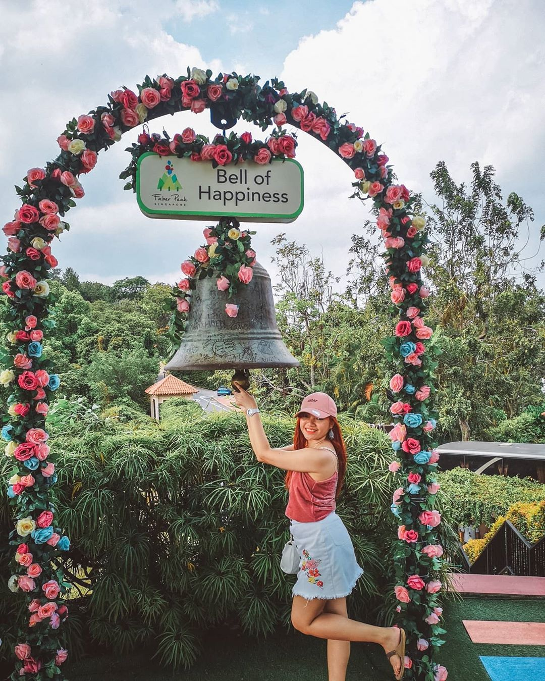 Bell of Happiness at Mount Faber