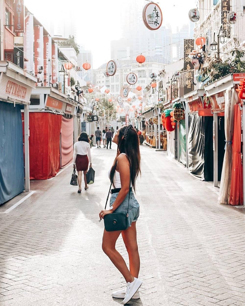 Chinatown Street Market Sebelum Buka. Instagram @bybrogen