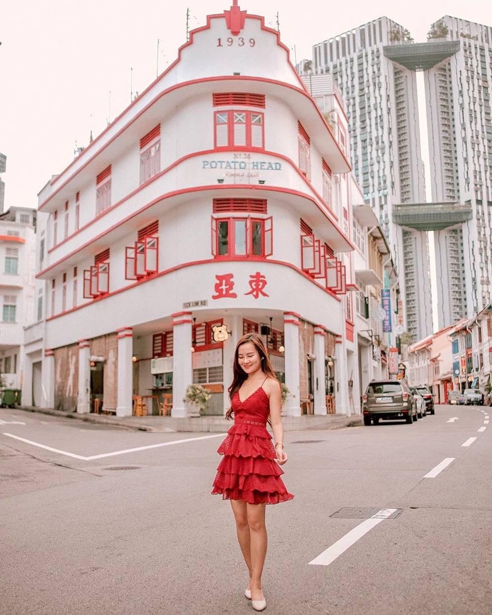 Spot Instagenic di Chinatown