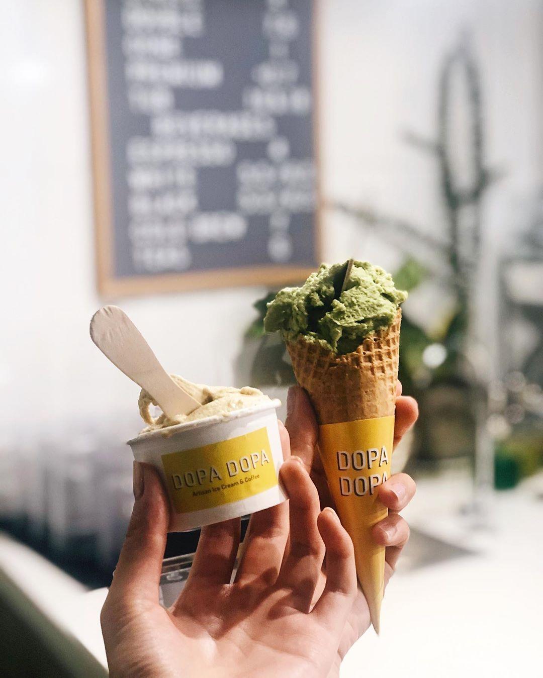 Dopa Dopa Creamery. Instagram @westeast.eats