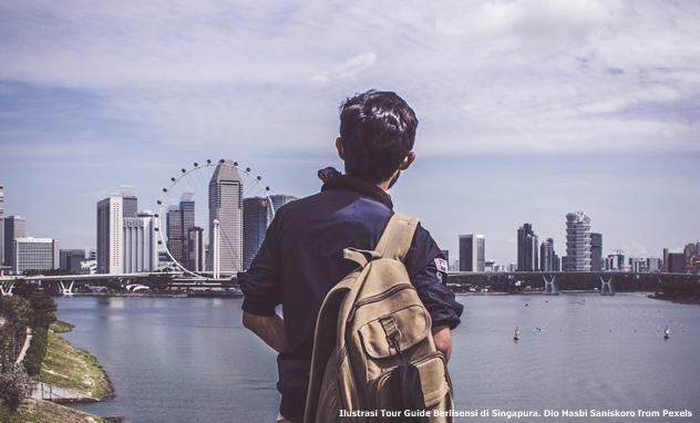 Tour Guide Berlisensi di Singapura
