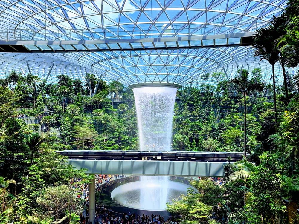 Jewel Changi Airport. Photo by Keith Chong on Unsplash