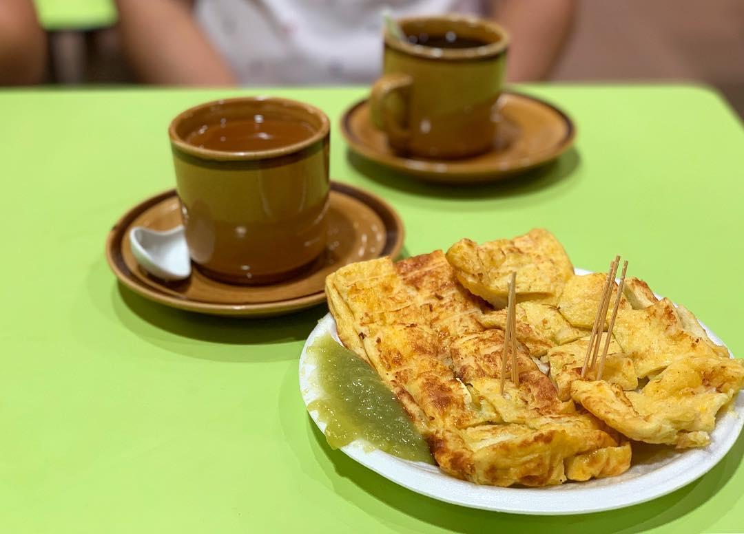Kaya Toast Sekitar Chinatown