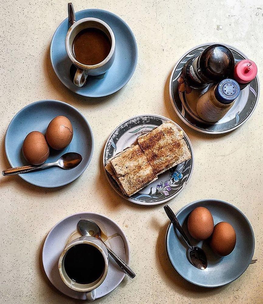 Kaya Toast di Toang Ah Eating House. Instagram @theworkingcapitol