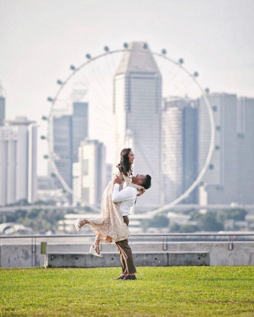Marina Barrage. Spot Foto Prewedding di Singapura