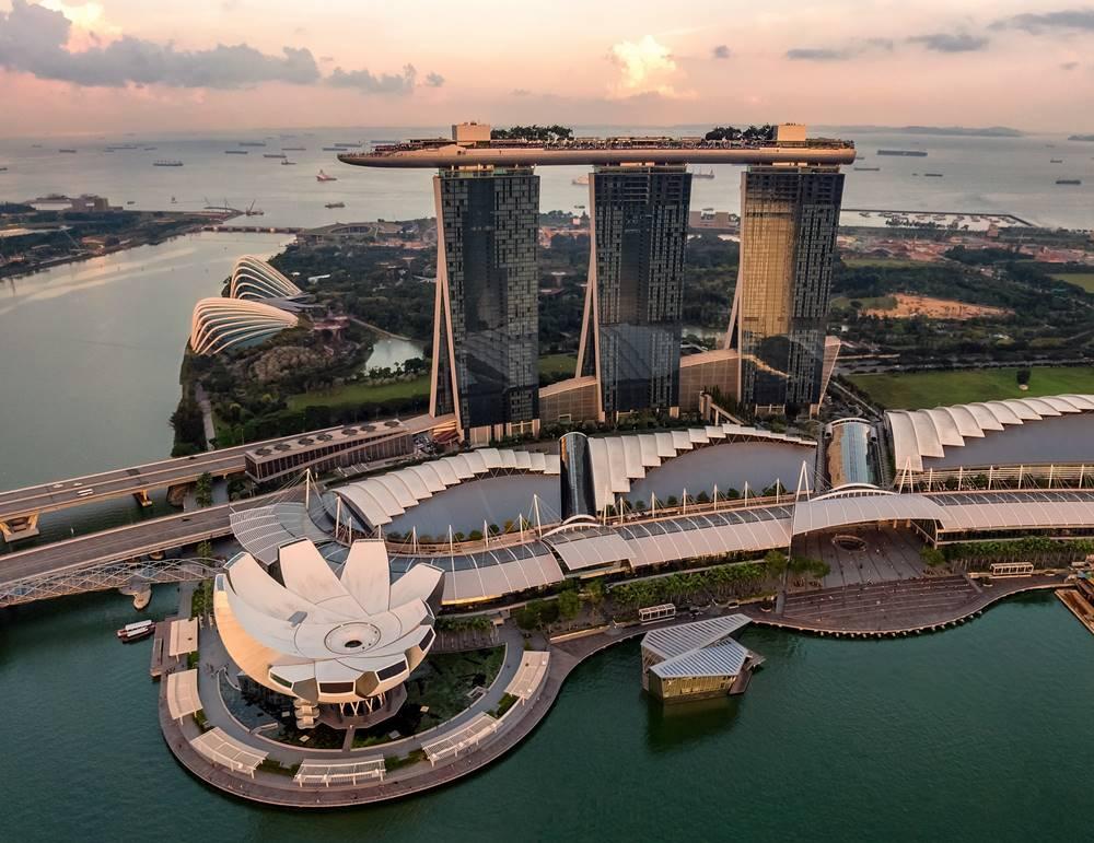 Marina Bay Sands, Singapura. Photo by Hu Chen on Unsplash