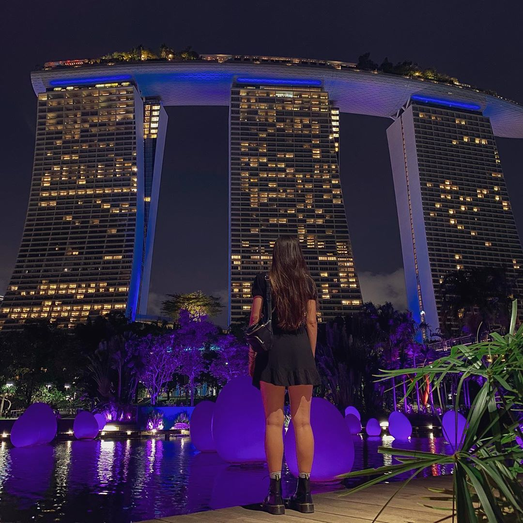 Marina Bay Sands. Instagram @babsmotta