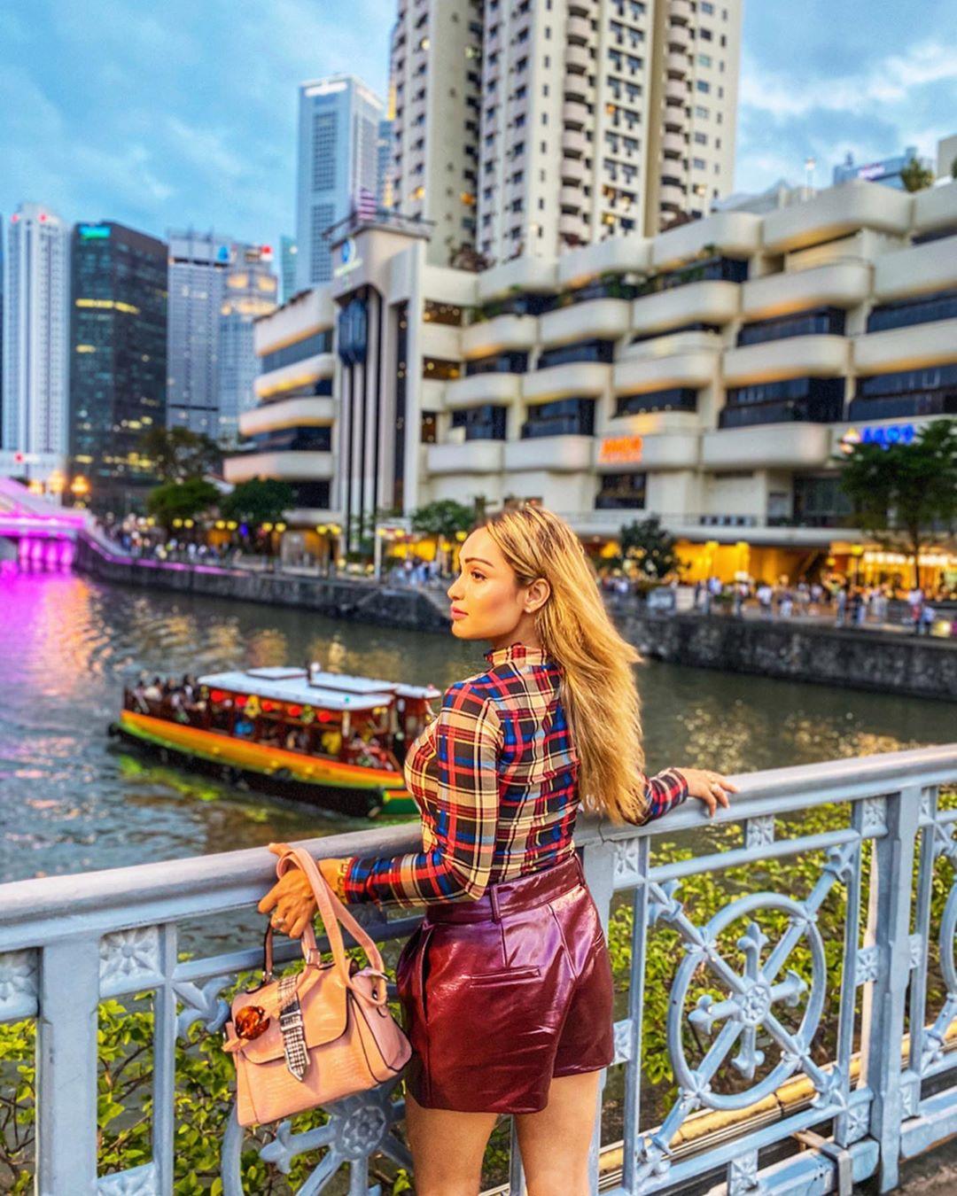 OOTD di Jembatan River Singapore