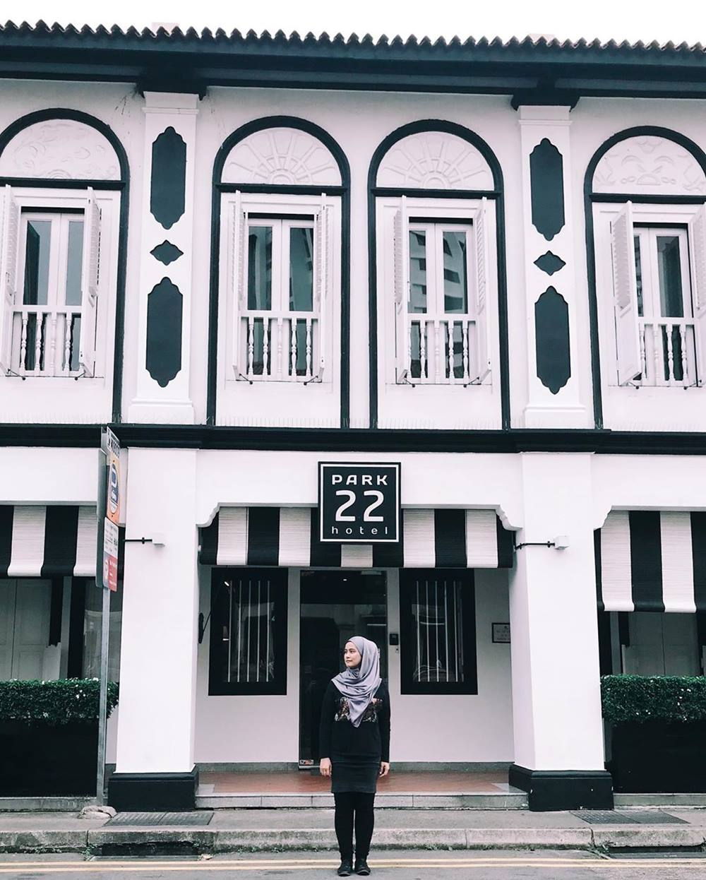 Park 22 Hotel Little India. Instagram @nuurill_mofiy