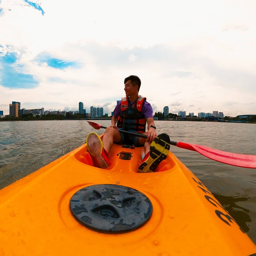 Tempat Kayak di Singapura