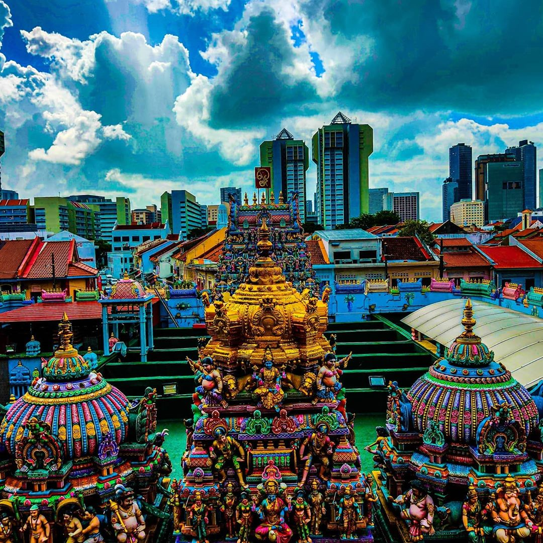 Sri Veeramakaliamman Temple. Instagram @dashwin_photography