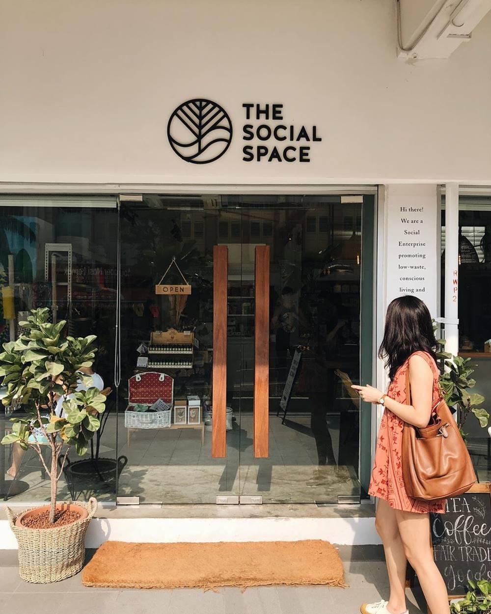 The Social Space Singapura. Instagram @batpudding