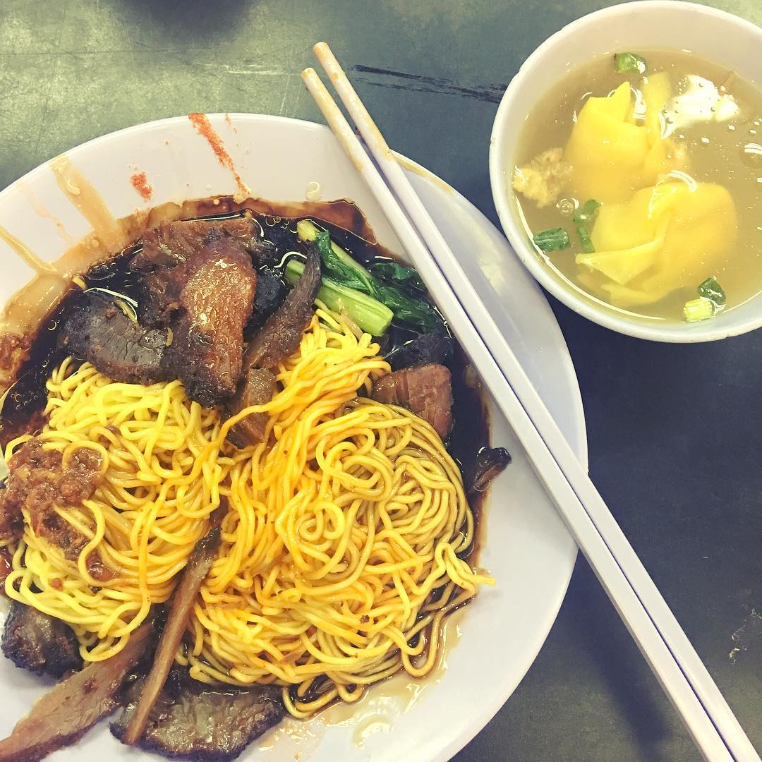 Beef Char Siew Noodles di Puncak Best Noodles. Instagram @wati_wolfbearie
