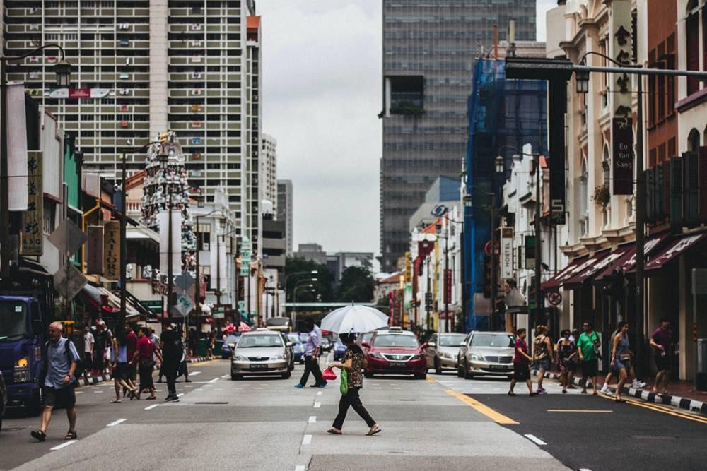 Aturan Pejalan Kaki di Singapura