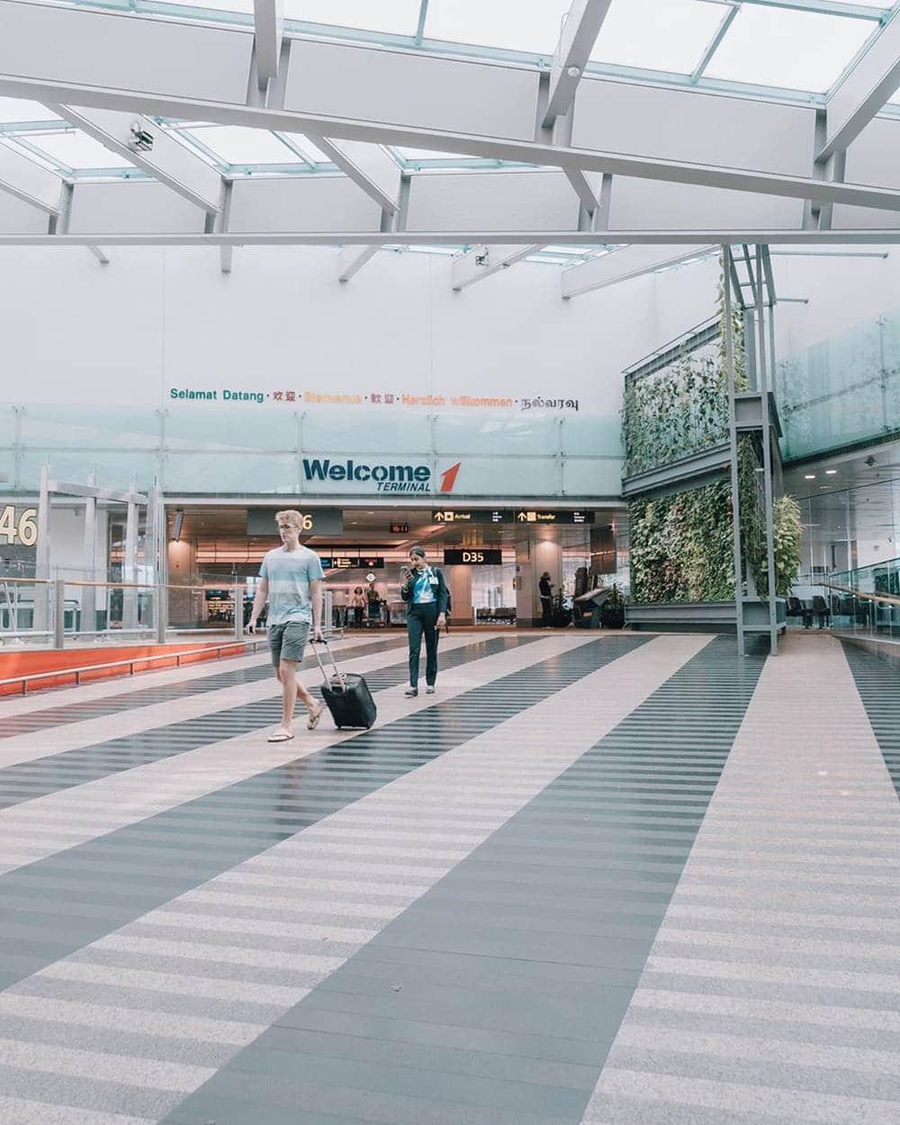 Ilustrasi Terminal di Bandara Changi. Instagram @changiairport