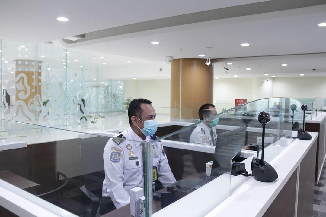 Ilustrasi kantor imigrasi di Indonesia. Instagram @ditjen_imigrasi