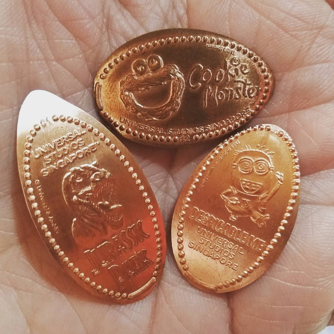 Pressed Pennies. Instagram @ginaleev