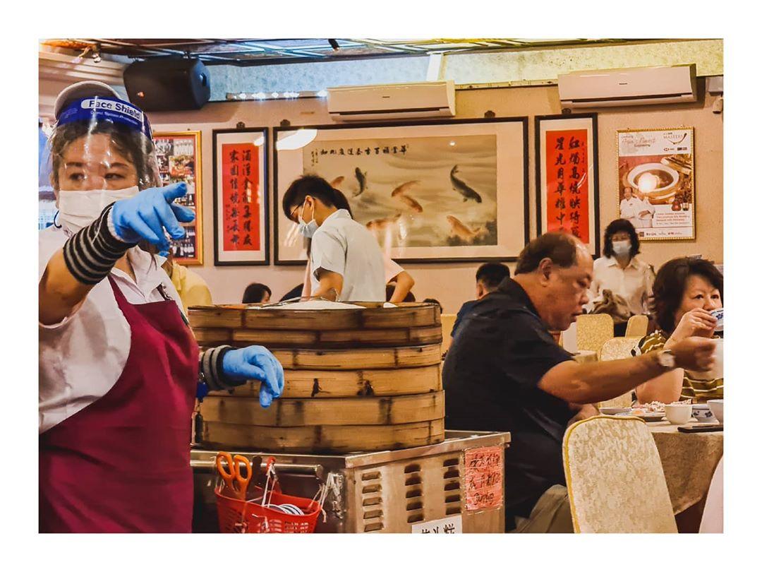 Suasana Red Star Restaurant di masa pandemi. Instagram @hansel.sng