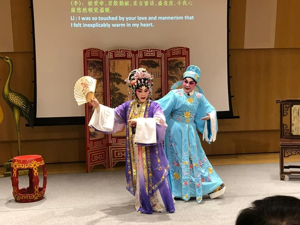 Teater Opera China di Singapura. Facebook Chinese Theatre Circle