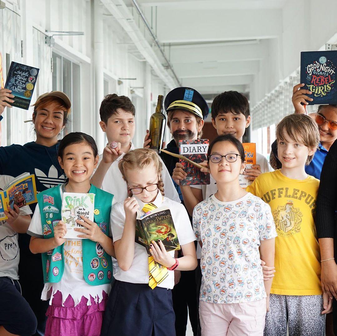Ilustrasi sekolah internasional di Singapura