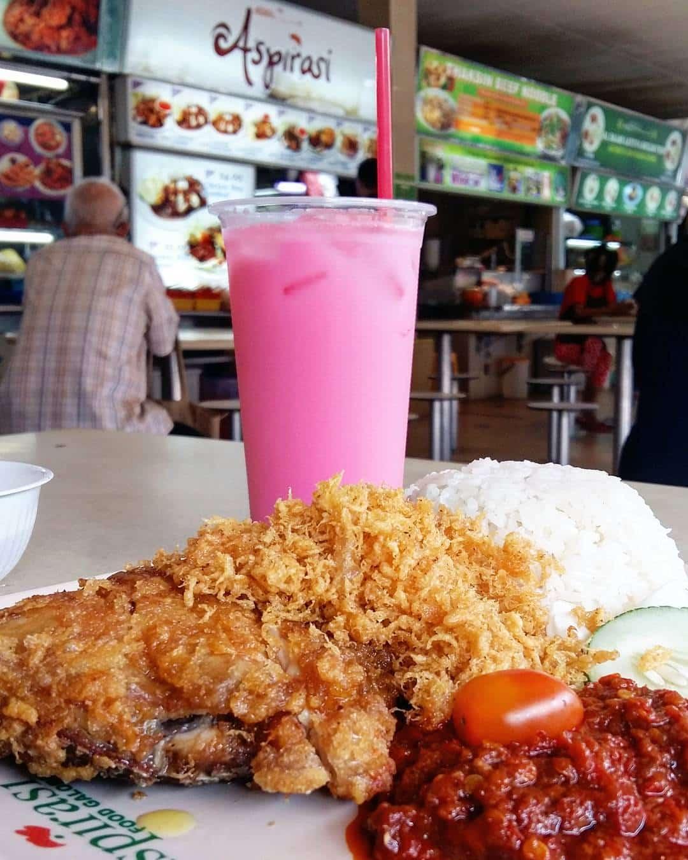 Makanan Halal di Seah Im Hawker Centre