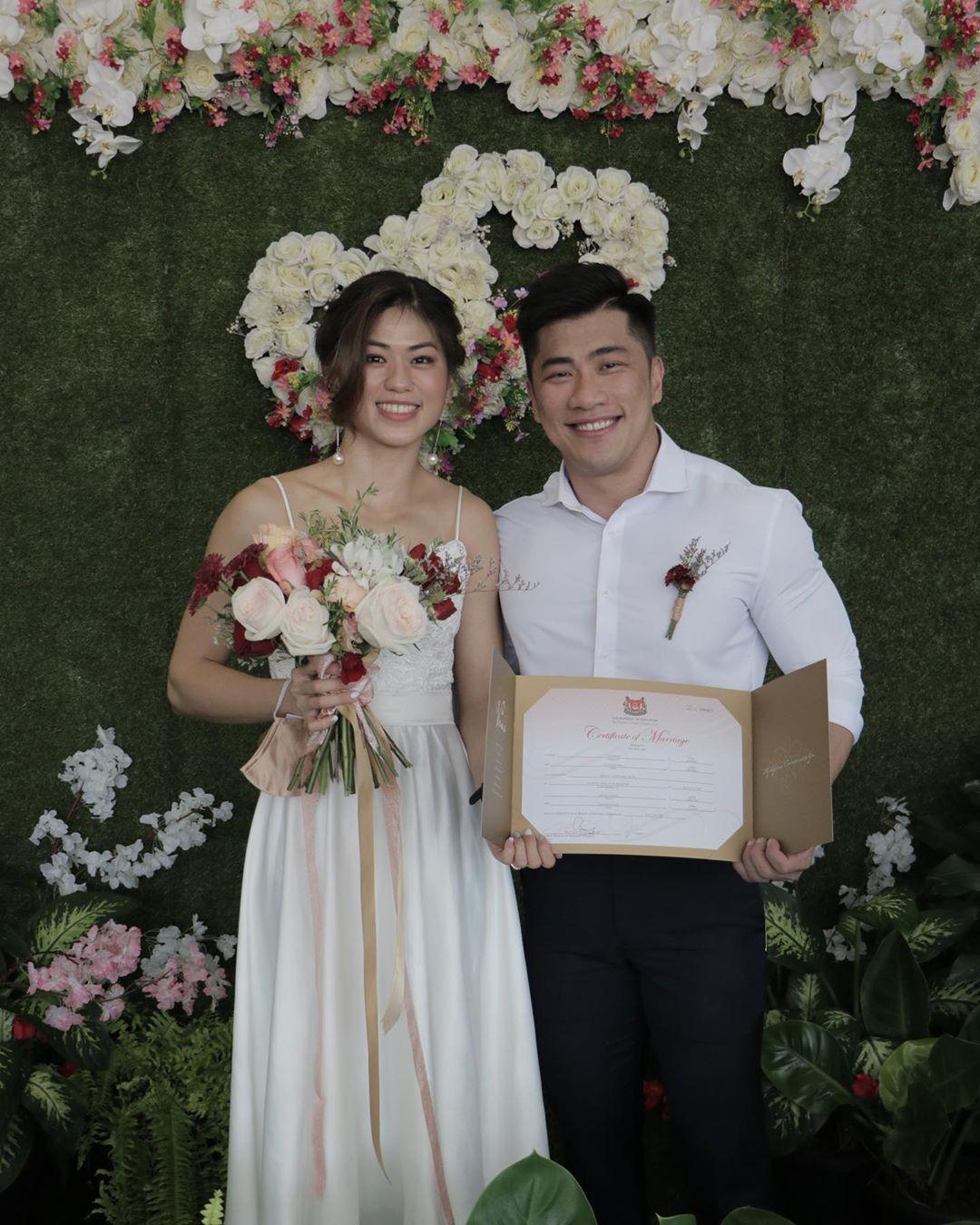 Ilustrasi proses pengesahan dan registrasi pernikahan di Singapura. Instagram @rh_supersaiyan