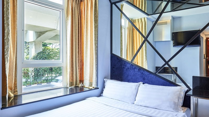 Kamar Deluxe Theme Room di ibis Budget Singapore Mount Faber. Website all.accor.com