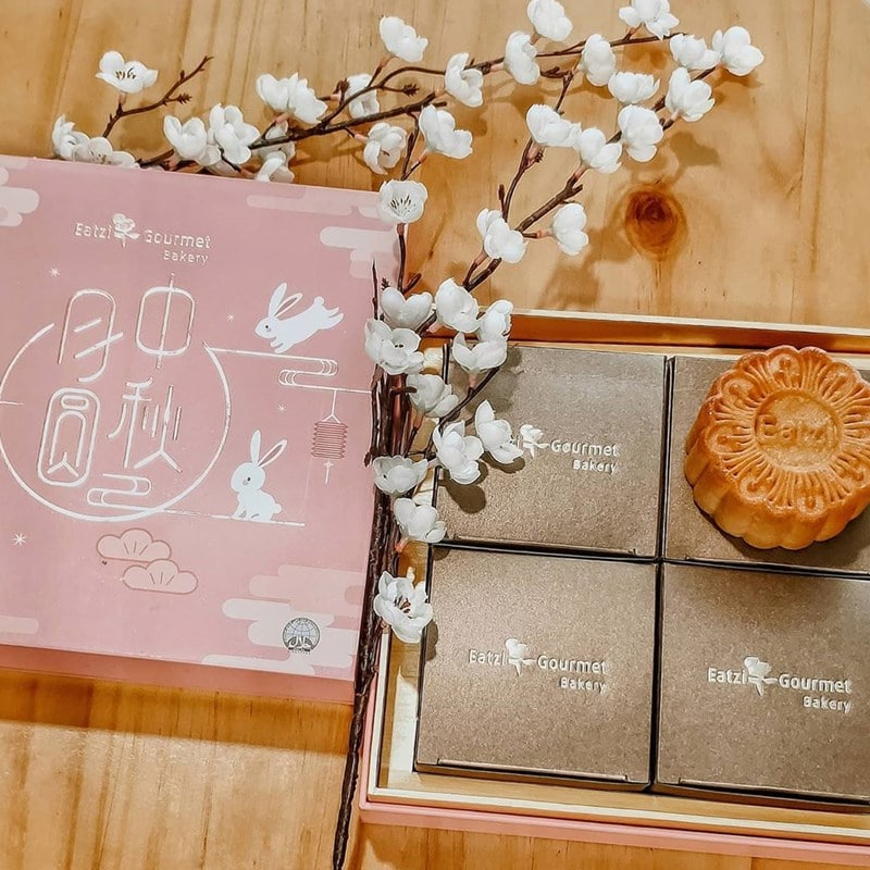 Mooncake di Eatzi Gourmet Bakery. Instagram @shopaholicdotsg