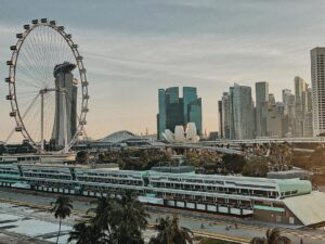 Singapore Flyer. Instagram @anamorawab