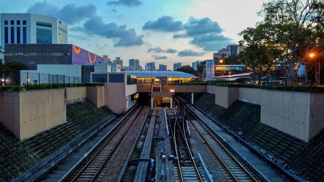 Stasiun MRT Bishan. Instagram @yeongwaye