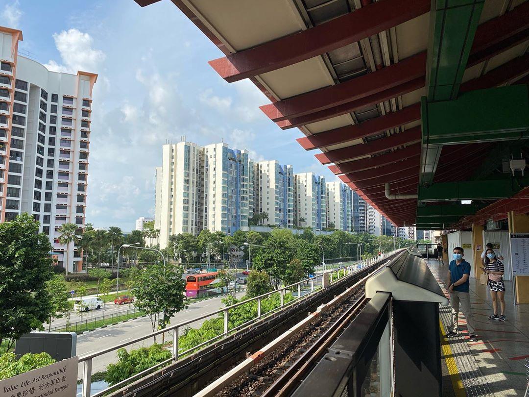 Stasiun MRT Lakeside. Instagram @joy_in_singapore