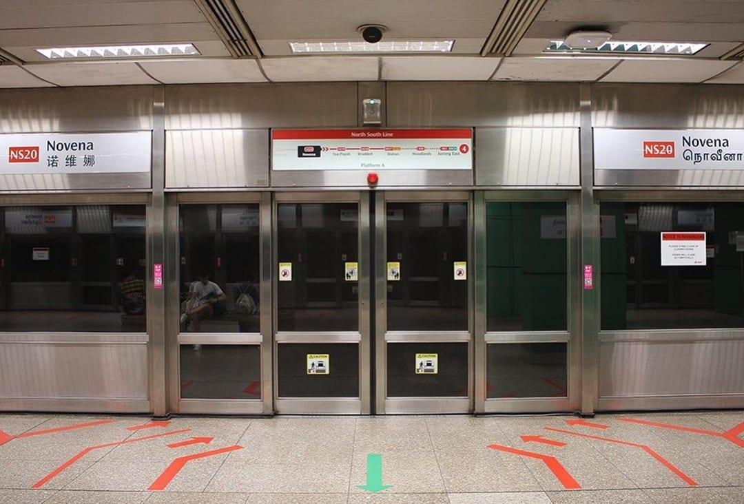 Stasiun MRT Berhantu di Singapura
