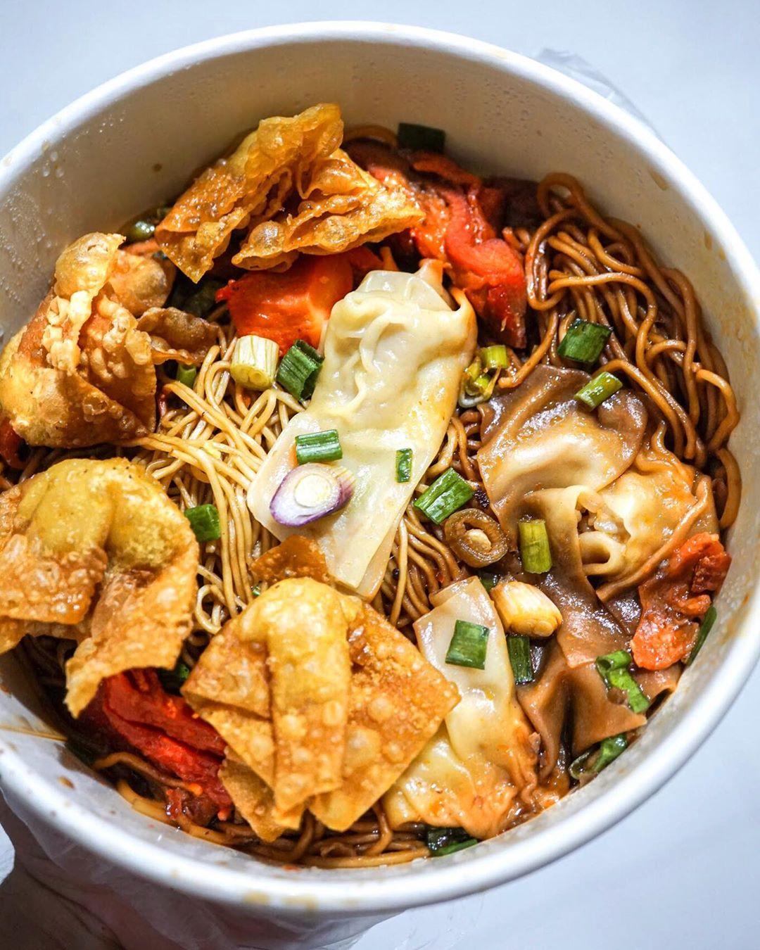Wanton noodle Encik Tan. Instagram @pictorialfood
