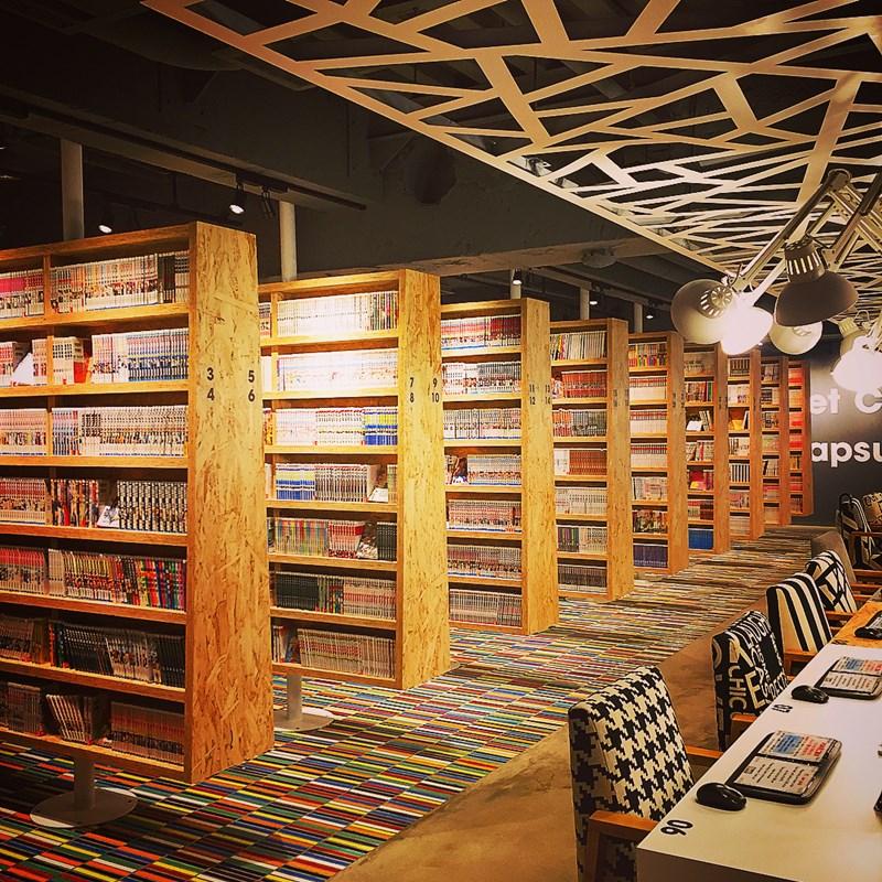 Booth Net Cafe & Capsule. Instagram @rindarinda100