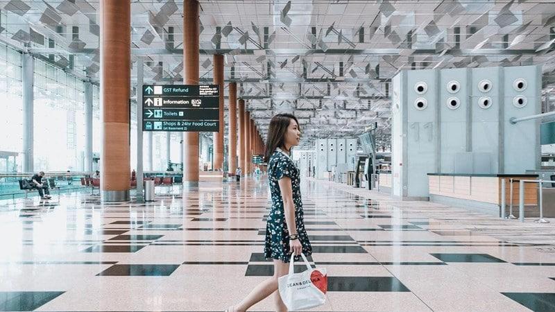 Changi Aiport Singapura. Instagram @changiairport