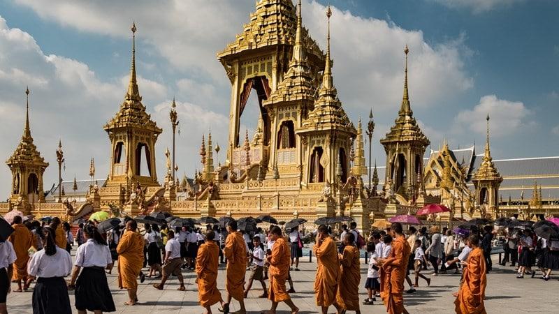 Ilustrasi The Grand Palace Thailand. Photo by Euan Cameron on Unsplash