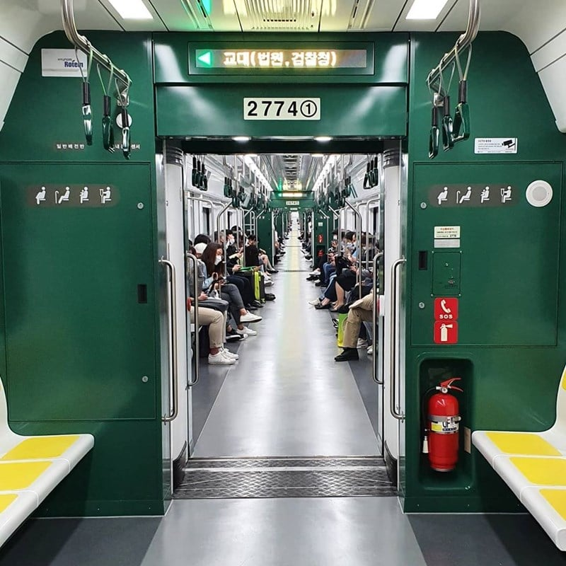Panduan Naik Kereta Subway Korea