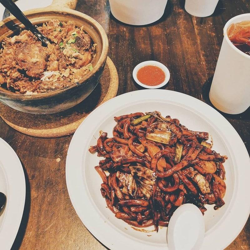 Menu di Malaysian Street Food. Instagram @thepugilistic